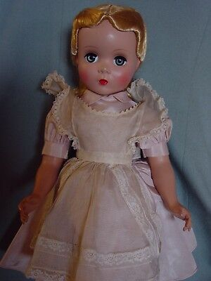 Madame Alexander Vintage Hard Plastic Mint Maggie Face Alice In Wonderland Doll