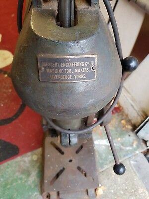 Bench pillar drill used