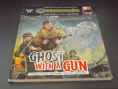 Commando War Comic Number 4728!,2014 Issue,v Good For Age,05 Years Old,super.