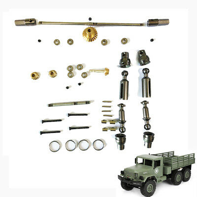 OP Full Metal Spare Parts+Middle Bridge Cover Kit For WPL 1/16 B-16 B16K B36K