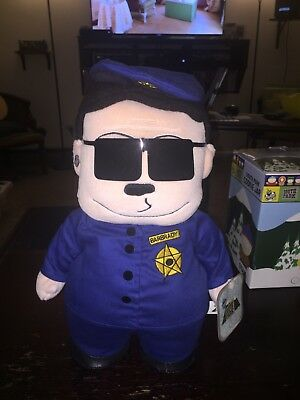 South Park Plush Officer Barbrady New With Tags Rare