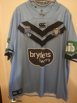 NSW Blues 2018 State Of Origin Playing Jersey
