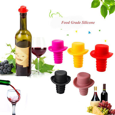 Champagne Preservation Tools Beverage Closures Silicone Cap Wine Bottle Stopper