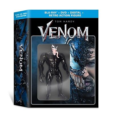 Venom (Walmart Exclusive) (Blu-ray + DVD + Digital Copy + Action Figure)