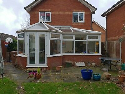 Large UPVC Conservatory for dismantle and remove yourself.