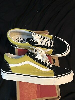 02d9f5c0f201 NIB VANS OLD Skool 36 DX Anaheim Factory Black Green size 11 ...