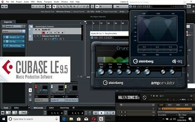 CUBASE 9.5 LE DAW | Genuine Download License | Register w/ CUBASE | Workstation