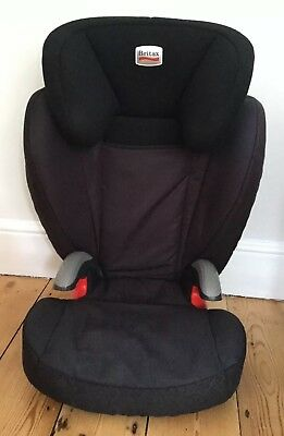 Britax Kid Plus BX Car Seat, Romer, Black Thunder, Group 2 And 3