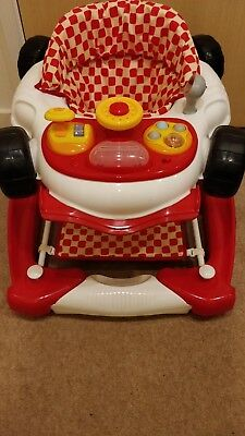 My Child Baby Car Walker Rocker Red - Excellent Condition