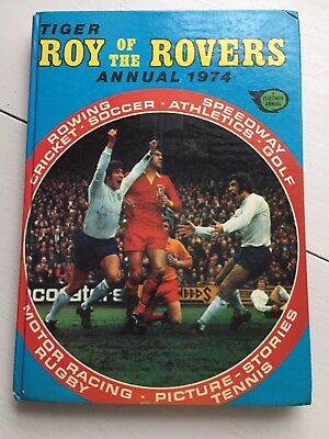 Roy of the Rovers Annual 1974