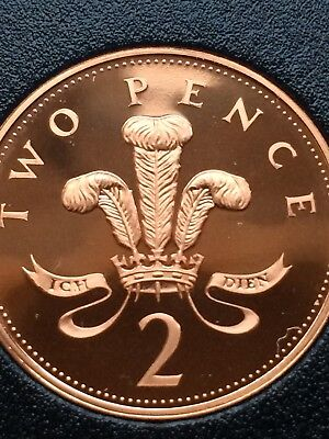1997  Royal Mint Proof  2p coin Two Pence Mint proof