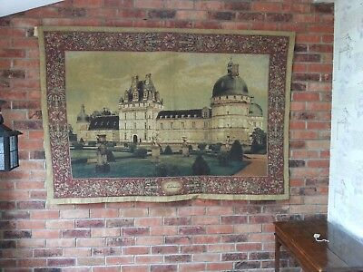 French wall tapestry Valencay France