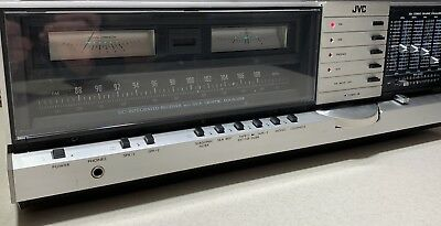 Vintage JVC Monster Stereo Receiver JR-S201 Amplifier S.E.A. Graphic Equalizer