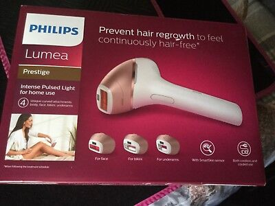 Philips Lumea Prestige IPL BR1956 Hair Removal FACTORY SEALED