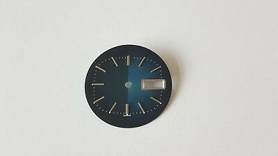 ETA 2472 Watch Dial  28.30mm Approx  Swiss Made Blue