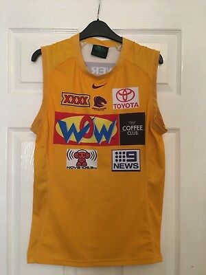 Brisbane Broncos NRL Training Vest Top Medium