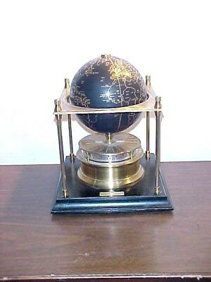 Royal Giographical Society World Clock Franklin Mint