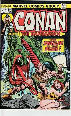 Conan the Barbarian 50 NM Near Mint