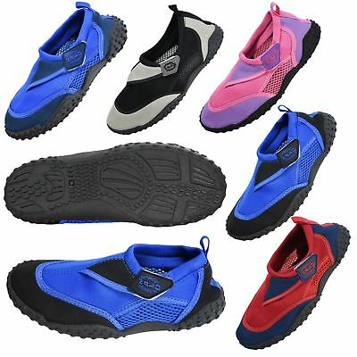 c2e3c2d9749d NEW Boys Girls Mens Womens Aqua Beach Surf Wet Water Shoes Wetsuit Boots  Nalu