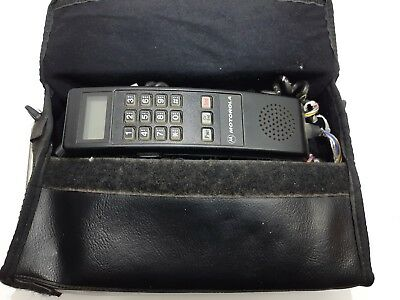 Motorola Bag Car Phone Cellular One Model No: S3228A Made in The USA