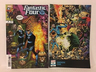 Marvel 11 Comic Lot Fantastic Four Two in One Thing Human Torch Avengers