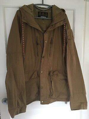 Mens lightweight Casual Helmswater Barbour Jacket With Hood