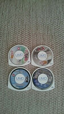 ** Psp Movie Bundle ** Umds Only ** Untested **