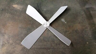 "13""  Whirligig Propeller fully assembled Lawn  Wind Ornamant Cedar and  Mahogany"