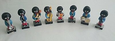 Robertsons Jam Band Figures - 8 ceramic collectibles - Very good condition