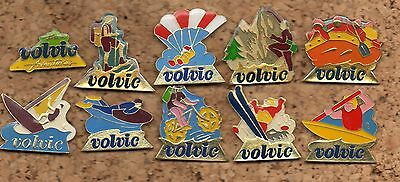 Lot 10 Pins Volvic Sports La Collection