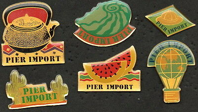 Lot 6 Pins Pier Import Superbe Collection