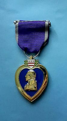US Purple Heart - Copie - Ruban et Médaille