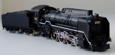 Micro Ace A9504 N-Gauge JNR Class D51 steam locomotive in Black livery