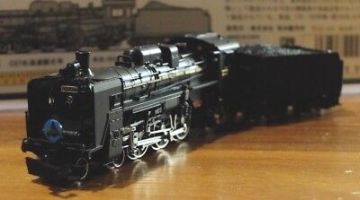 Micro Ace A9901 N-Gauge JNR Class C57-177 steam locomotive in Black livery