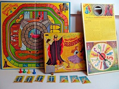 Vintage 1958 Walt Disney's Sleeping Beauty Game Published by Whitman