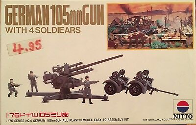 NITTO 1/76 GERMAN 105 mm GUN