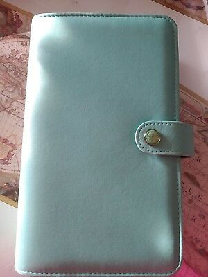 Agenda Organizer Webster's Pages A6 Personal - Teal  USATA