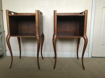 Beautiful Pair of Vintage French Bedside cabinets