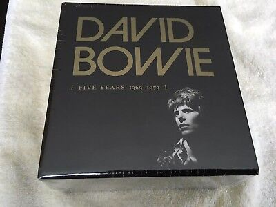 David Bowie 5 Five Years 1969 - 1973 12 CD box set NEW/SEALED 12CD