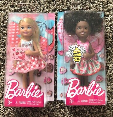 "2017 Barbie Valentine's Day Chelsea 6"" Doll Set New In box"