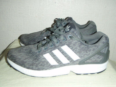 best website 0bf06 874d7 Mens Grey white Adidas Torsion Zx Flux Trainers Size Uk 8 Eu 42. Used