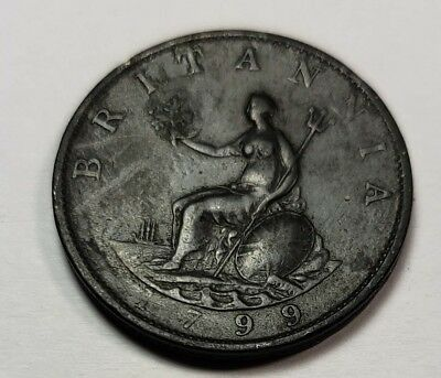 1799 Great Britain Large Penny