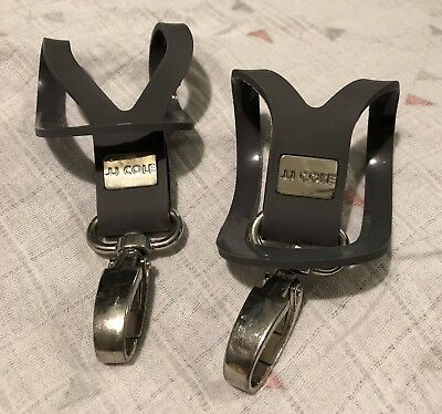 JJ Cole BUGGY clips x 2 For Fixing Handbag