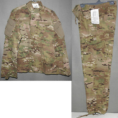 Army Combat Uniform Flame Resistant MULTICAM New with Tags MEDIUM 2010