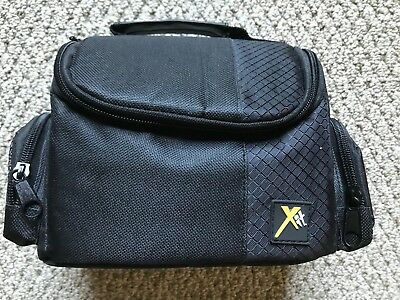 Xit Digital Camera Camcorder Deluxe Padded Case Bag for Canon Nikon Sony