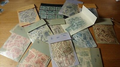 Large stock Fault free stamps No. 129-31,142,177-79. Zumstein cat. 13400 CHF!!!