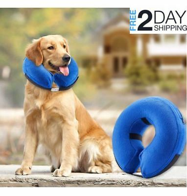 Protective Inflatable Collar Dogs Cats - Large Soft Pet Recovery Collar