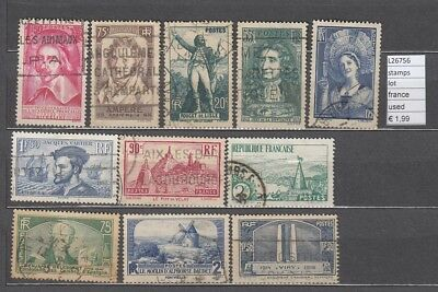 Timbres Lot  Stamps France Used  (L26756)