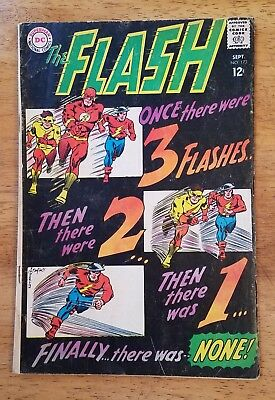 The FLASH #173 DC Comics 1967 Silver-Age Kid Flash Appearance