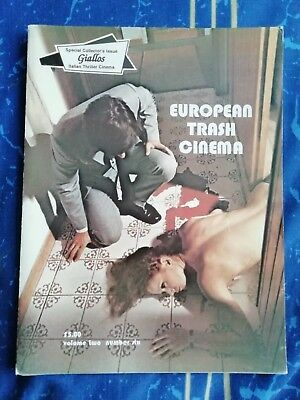 European Trash Cinema Vol.2 No.6 Horror Magazine Fanzine Giallo Collector's